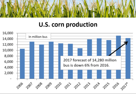 U.S. corn production