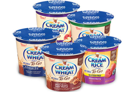 Cream of Wheat cups, B&G Foods