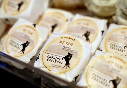 Cowgirl Creamery artisan cheeses
