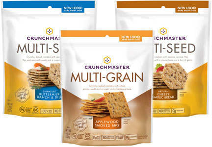 Crunchmaster Multi-Grain and Multi-Seed crackers