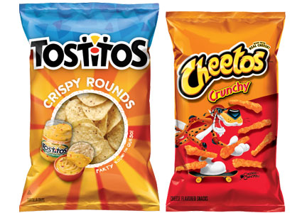 Crunchy Cheetos, Crispy Tostitos chips, PepsiCo, Frito-Lay
