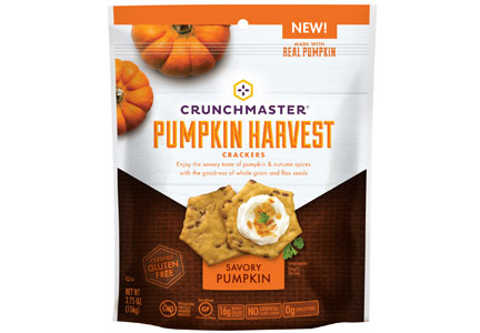 Crunchmaster Pumpkin crackers