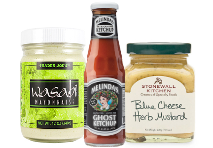 Global flavors, Condiments and sauces