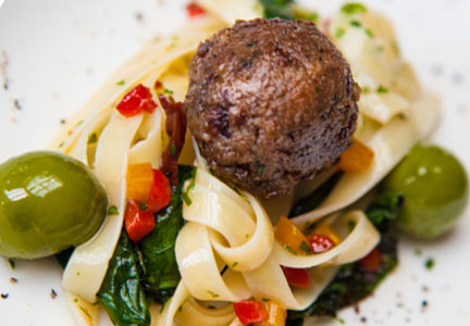 Memphis Meats cultured meat products, meatball