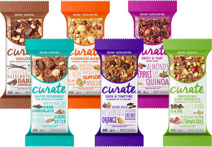 Curate snack bars, Abbott