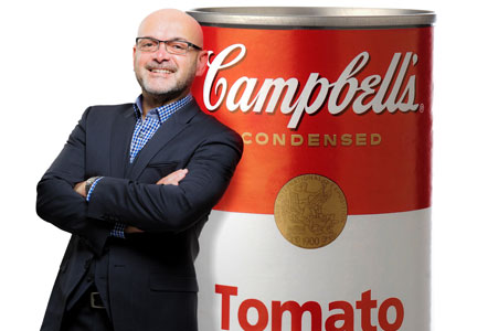 Charles Vila, Campbell Soup