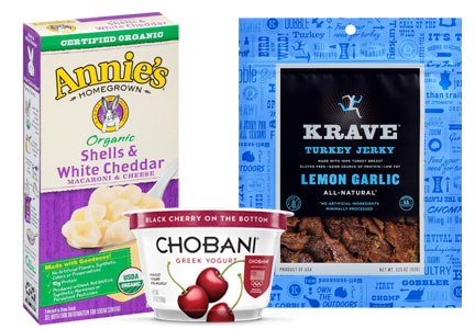 CVS new healthy products - Annie's, Krave, Chobani