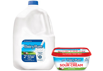 Dean Foods DairyPure products