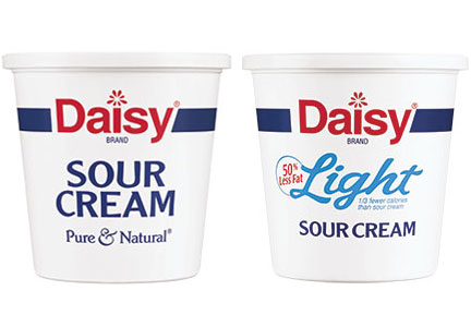 Daisy brand sour cream, clean label dairy