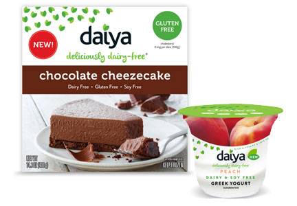 Daiya Cheezecake and Greek yogurt