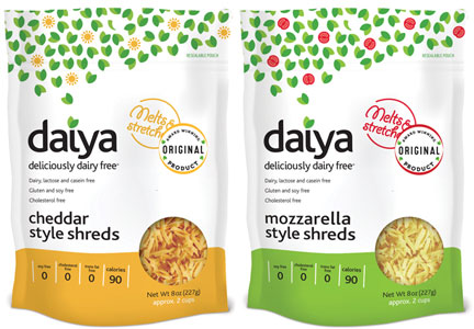 Daiya cheese shreds