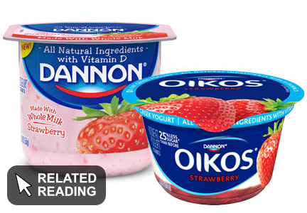 Dannon takes first step toward 'bold change'
