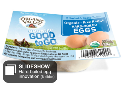 Hard-boiled egg innovation