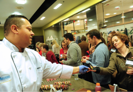 The Flavorology event hosts a chef challenge where culinary professionals develop innovative cuisines sparked from Bell's trend program and feature Bell flavors.