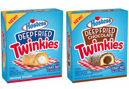 Hostess deep fried frozen Twinkies