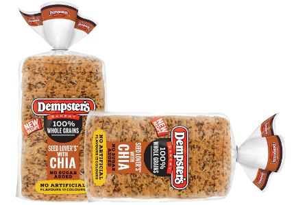 Dempster's Seed Lover's bread with chia, Grupo Bimbo