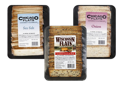 Distinctive Foods Chicago Flats and Wisconsin Flats gourmet flatbreads
