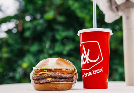 Jack in the Box Double Jack burger