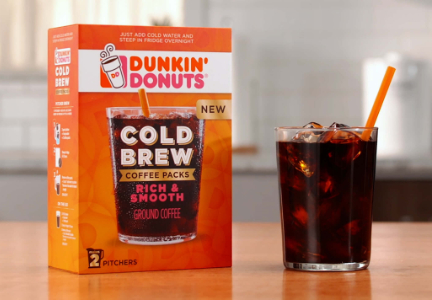 Dunkin' At Home Cold Brew Packs