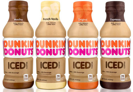 Dunkin' Donuts ready-to-drink iced coffee