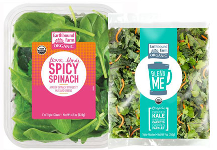 Earthbound Farms Organic salad mixes, WhiteWave Foods