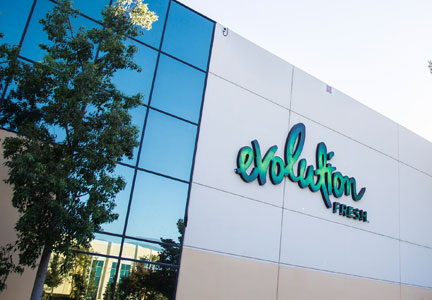 Evolution Fresh facility in California