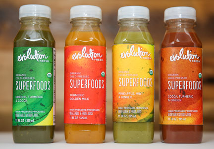 Evolution Fresh Organic Superfood Juices
