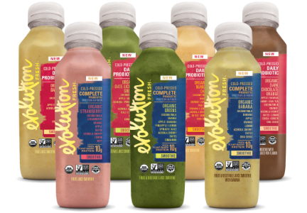 Evolution Fresh organic cold-pressed smoothies