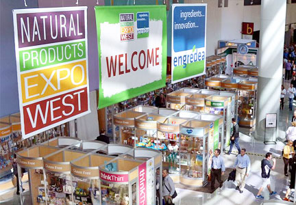 2016 Natural Products Expo West show floor