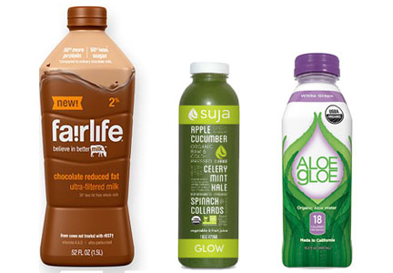 Fairlife, Suja, Aloe Gloe - Coca-Cola