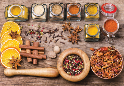 Spices, flavors