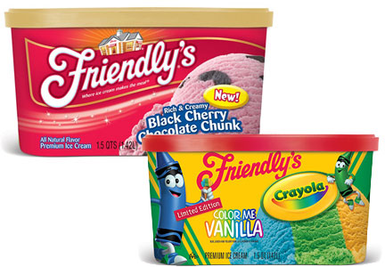 Friendly's ice cream innovation, Dean Foods