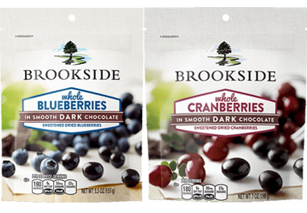 Brookside chocolate fruit snacks