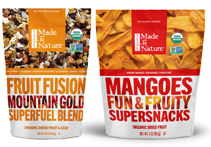 Made in Nature fruit snacks