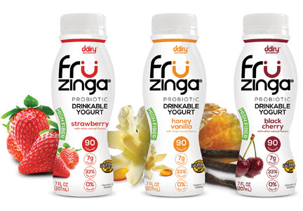Fruzinga drinkable yogurt