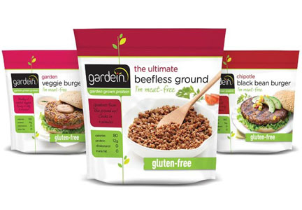 Gardein meatless options, Pinnacle Foods