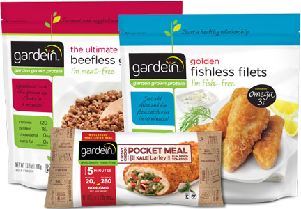 Gardein meatless products, Pinnacle Foods