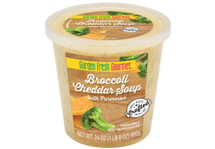 Garden Fresh Gourmet Broccoli Cheddar with Parmesan soup, Campbell