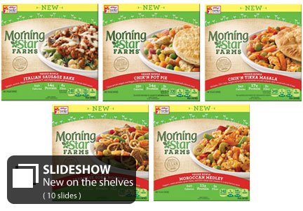 MorningStar Farms veggie bowls
