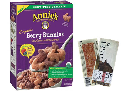 General Mills Annie's cereal, Epic meat bars