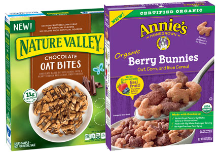 General Mills new cereal - Nature Valley, Annie's