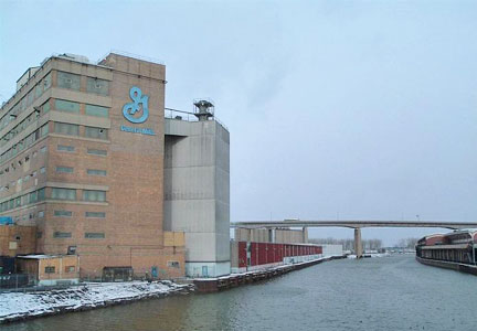 General Mills cereal packaging facility in Buffalo, N.Y.