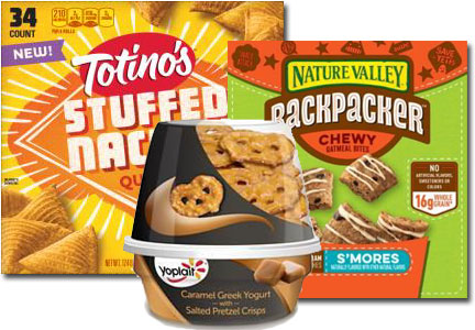 General Mills new snack and on-the-go offerings