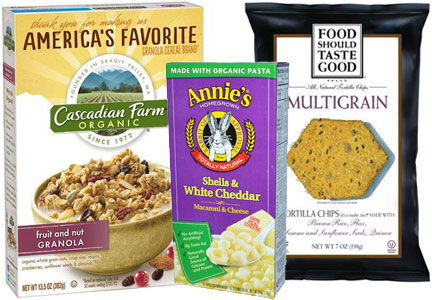 General Mills natural and organic products - Cascadian Farms, Annie's, Food Should Taste Good