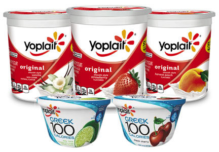 General Mills yogurt renovation- Yoplait original yogurt, Greek 100