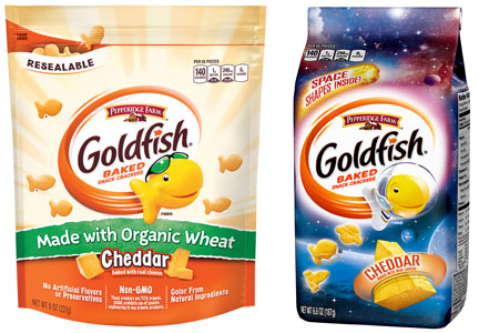 Campbell Soup Goldfish crackers