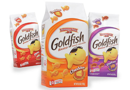 Goldfish crackers, Pepperidge Farms, Campbell Soup Co.