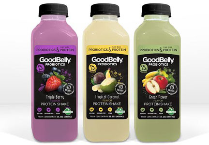 Goodbelly protein shakes