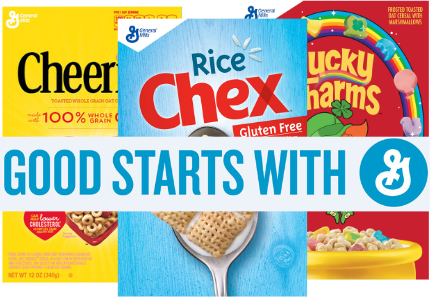 Good Starts with G General Mills cereal ad campaign
