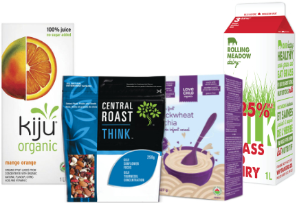 GreenSpace brands - Love Child Organics, Rolling Meadow Dairy, Central Roast, Kiju Organic